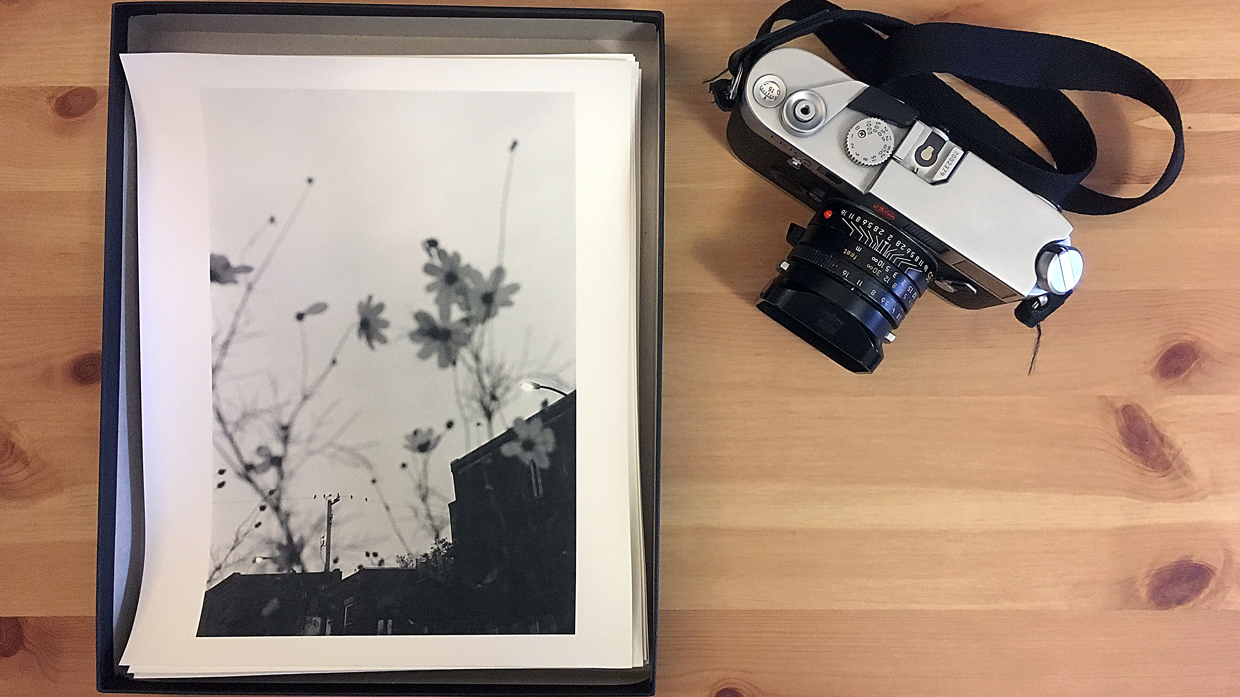 final print with camera